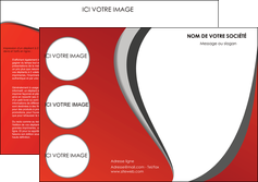 modele depliant 3 volets  6 pages  texture contexture structure MLIG28020