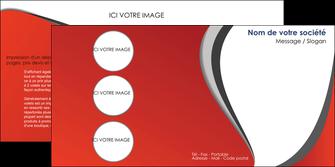 modele depliant 2 volets  4 pages  texture contexture structure MLIG28026