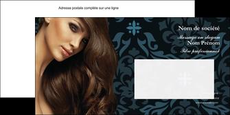 personnaliser maquette enveloppe centre esthetique  coiffure salon de coiffure beaute MLGI28050