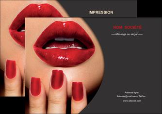 maquette en ligne a personnaliser flyers centre esthetique  beaute institut de beaute institut de beaute professionnel MIF28078