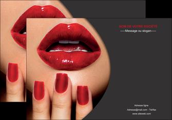 personnaliser modele de affiche centre esthetique  beaute institut de beaute institut de beaute professionnel MIF28082