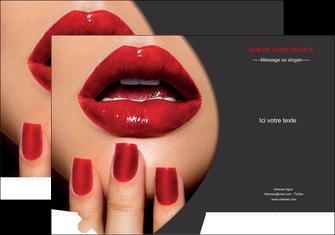 modele pochette a rabat centre esthetique  beaute institut de beaute institut de beaute professionnel MIF28094