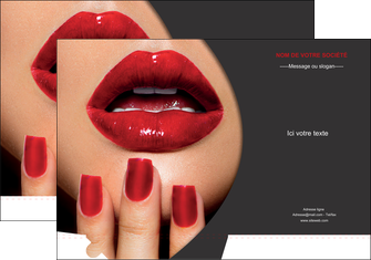 modele pochette a rabat centre esthetique  beaute institut de beaute institut de beaute professionnel MLGI28094
