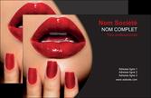 modele carte de visite centre esthetique  beaute institut de beaute institut de beaute professionnel MLGI28096