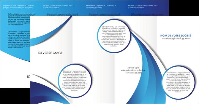 modele en ligne depliant 4 volets  8 pages  conceptuel couverture creatif MLGI28104