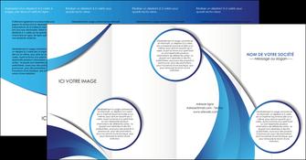 modele en ligne depliant 4 volets  8 pages  conceptuel couverture creatif MIF28104