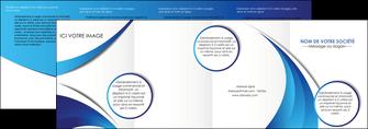 realiser depliant 4 volets  8 pages  conceptuel couverture creatif MIF28108