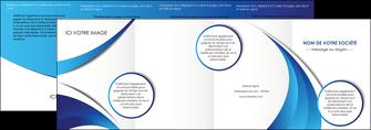 creer modele en ligne depliant 4 volets  8 pages  conceptuel couverture creatif MIF28110