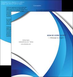 exemple depliant 2 volets  4 pages  conceptuel couverture creatif MIF28114