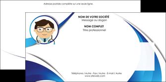 faire modele a imprimer enveloppe chirurgien medecin medecine cabinet medical MIF28150