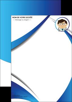 imprimer flyers chirurgien medecin medecine cabinet medical MIF28154