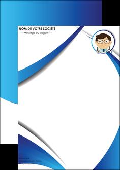 personnaliser modele de affiche chirurgien medecin medecine cabinet medical MIF28166
