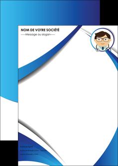 faire flyers chirurgien medecin medecine cabinet medical MIF28170