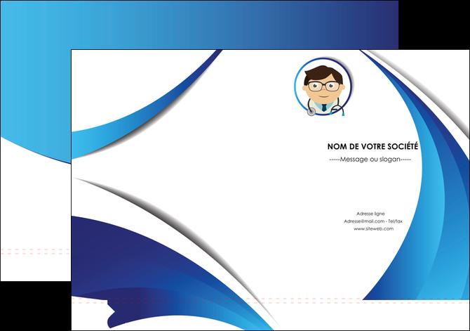 personnaliser modele de pochette a rabat chirurgien medecin medecine cabinet medical MIF28182