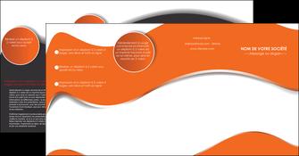 modele depliant 4 volets  8 pages  texture contexture structure MLIG28190