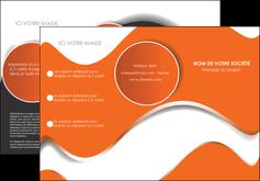 imprimerie depliant 3 volets  6 pages  texture contexture structure MLGI28206