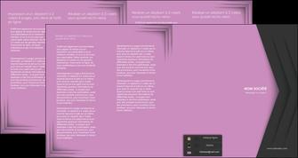 modele en ligne depliant 4 volets  8 pages  texture contexture structure MLIG28232