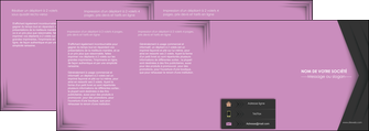 faire depliant 4 volets  8 pages  texture contexture structure MLIG28234