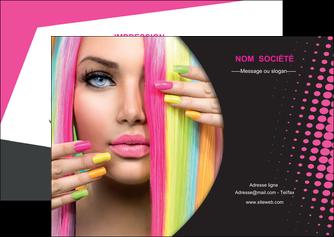 faire flyers centre esthetique  coiffure coiffeur coiffeuse MLGI28294