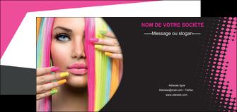 modele en ligne flyers centre esthetique  coiffure coiffeur coiffeuse MLGI28302