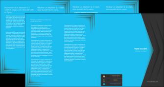 creer modele en ligne depliant 4 volets  8 pages  texture structure abstrait MLGI28392