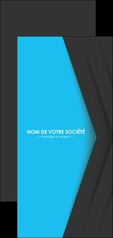 Impression flyer publicitaire  devis d'imprimeur publicitaire professionnel Flyer DL - Portrait (21 x 10 cm)