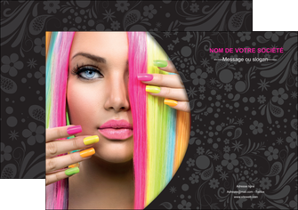 realiser affiche cosmetique coiffure coiffeur coiffeuse MIF28462