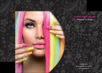 personnaliser modele de affiche cosmetique coiffure coiffeur coiffeuse MIF28468