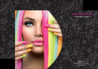 maquette en ligne a personnaliser affiche cosmetique coiffure coiffeur coiffeuse MIF28470