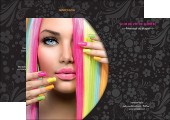personnaliser maquette flyers cosmetique coiffure coiffeur coiffeuse MIF28472