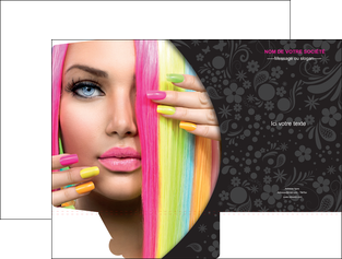 impression pochette a rabat cosmetique coiffure coiffeur coiffeuse MIF28478