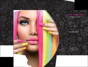 maquette en ligne a personnaliser pochette a rabat cosmetique coiffure coiffeur coiffeuse MIF28480