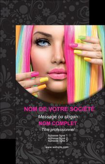 realiser carte de visite cosmetique coiffure coiffeur coiffeuse MIF28482