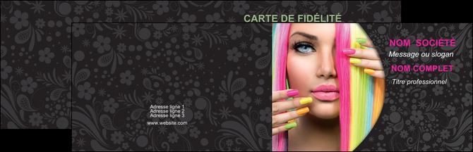 imprimer carte de visite cosmetique coiffure coiffeur coiffeuse MID28484