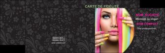 imprimer carte de visite cosmetique coiffure coiffeur coiffeuse MIF28484