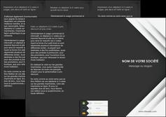personnaliser modele de depliant 3 volets  6 pages  texture structure contexture MLGI28552