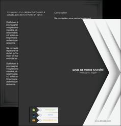 imprimerie depliant 2 volets  4 pages  texture structure contexture MLGI28558