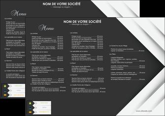 Set de table papier publicitaire et personnalis pour - Set de table grand format ...