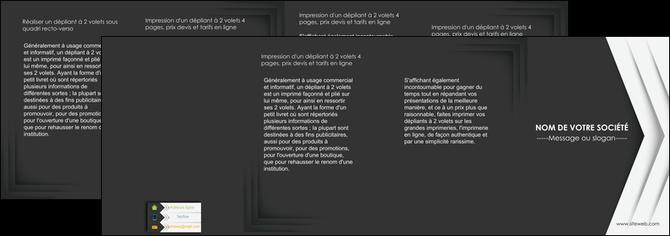 faire depliant 4 volets  8 pages  texture structure contexture MLGI28564