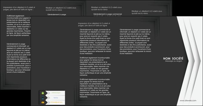 maquette en ligne a personnaliser depliant 4 volets  8 pages  texture structure contexture MLGI28568