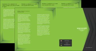 personnaliser maquette depliant 4 volets  8 pages  texture contexture structure MIF28622