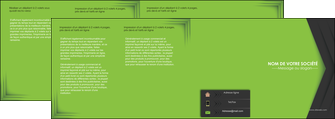 realiser depliant 4 volets  8 pages  texture contexture structure MIF28624