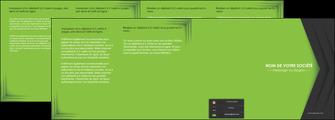 creation graphique en ligne depliant 4 volets  8 pages  texture contexture structure MIF28626