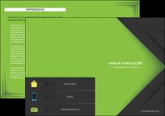 creation graphique en ligne depliant 2 volets  4 pages  texture contexture structure MIF28628