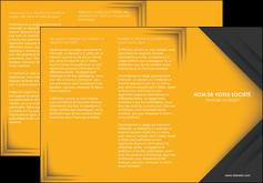 modele depliant 3 volets  6 pages  texture structure design MIF28660