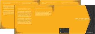 personnaliser maquette depliant 4 volets  8 pages  texture structure design MIF28670