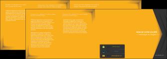 impression depliant 4 volets  8 pages  texture structure design MIF28672