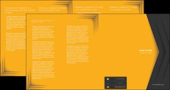 personnaliser modele de depliant 4 volets  8 pages  texture structure design MIF28674