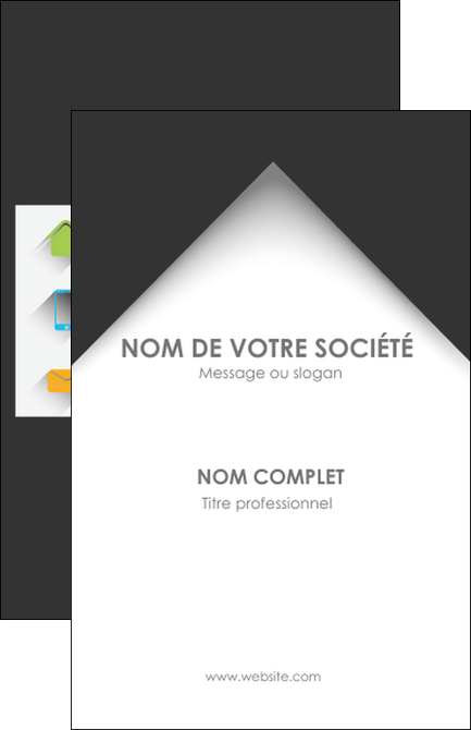 Modele En Ligne Carte De Visite Texture Contexture Structure MLGI28728