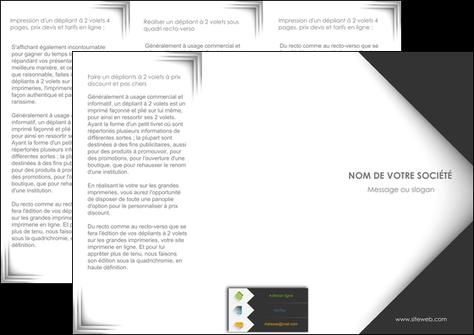 modele en ligne depliant 3 volets  6 pages  texture contexture structure MLGI28736